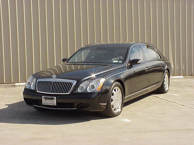 Armored Maybach Cars
