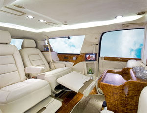 Armored Cadillac Escalade ESV CEO Package Full Interior Conversion Package 1