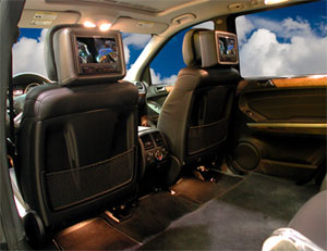 Armored Mercedes-Benz CEO Lite Interior Conversion Package 1