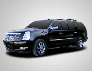 Armored Cadillac Escalade ESV CEO Package Full Interio and Stretch Conversion Package 1
