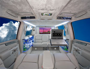 Armored Limousine Conversion 4