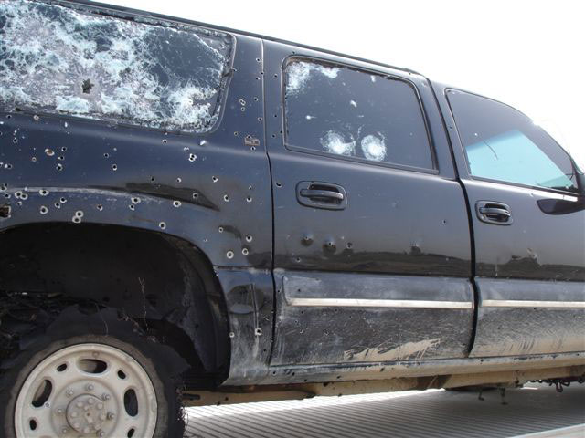 Armored Vehicle Case Studies  Bulletproof Car Attacks