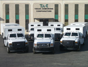 Armored Bulletproof Cash-in-Transit Route Truck 2
