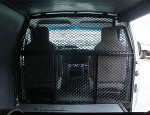 Armored Bulletproof Cash-in-Transit Cargo Van 2
