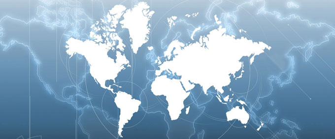 Clientele Abroad - Global World Map