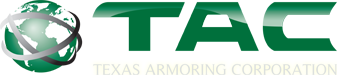 Armored Cars and Bulletproof Vehicles - Texas Armoring Corporation Logo