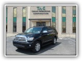 Armored Bulletproof Toyota Sequoia SUV  (1)