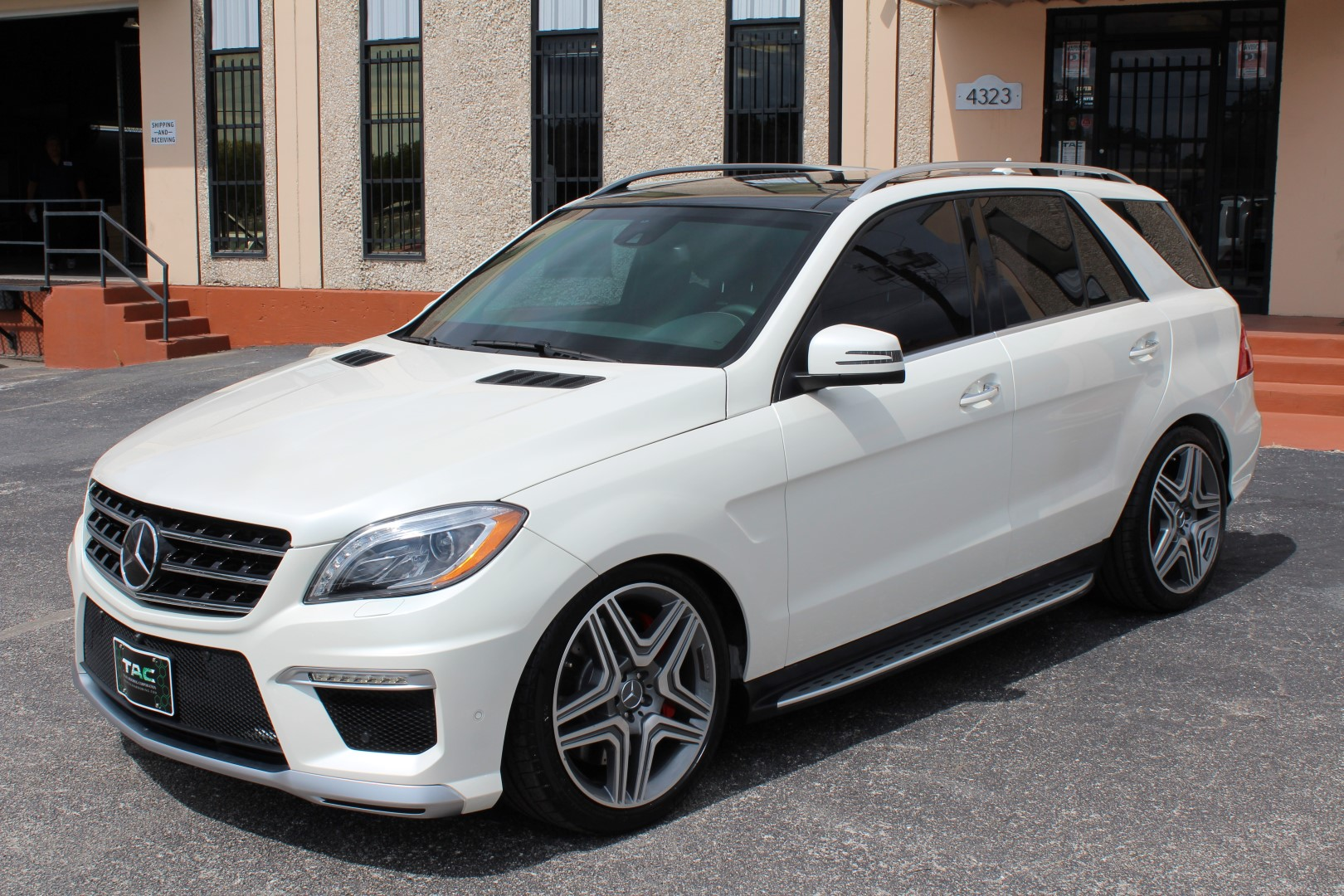 2014 mercedes benz ml63 amg suv - Mercedes Benz Suv 2014 White