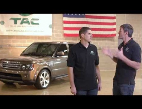 Armored Bullet Proof Range Rover Sport SUPERCHARGED SUV