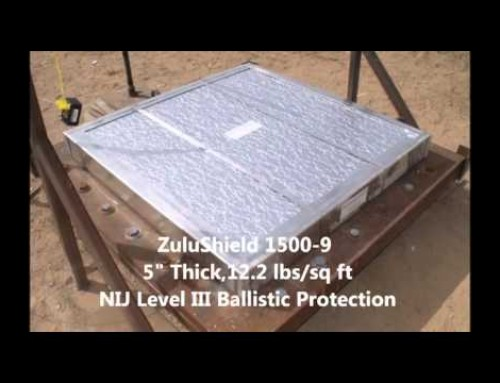 How to eat an IED: Blast panel test with 4 lbs. of high-explosive C4!